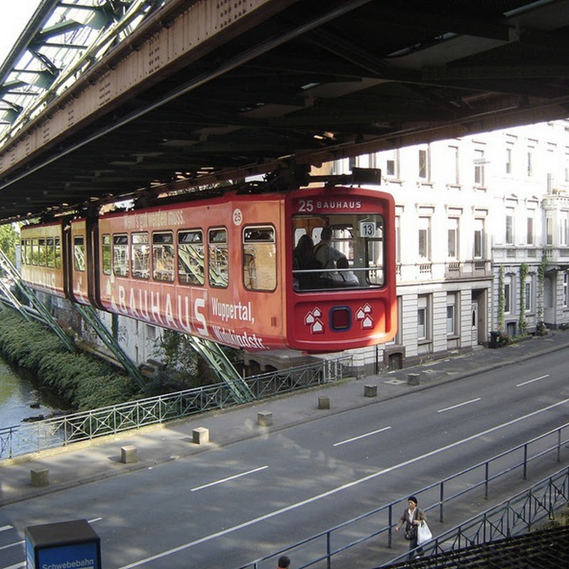 Wuppertal Schwebebahn: Germany's Hanging Train