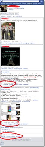 Akun facebook yang dibajak penipu jualan gadget olshop berhasil diambil alih pemilik akun