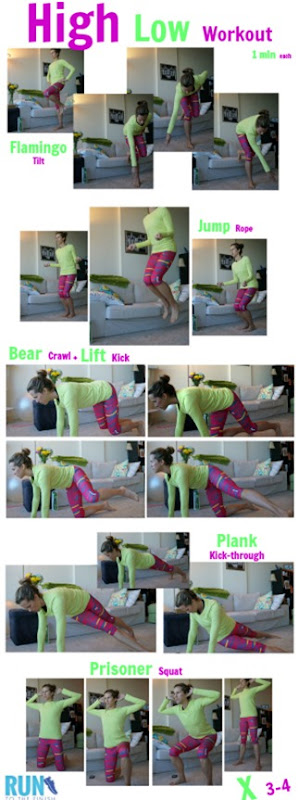 At home bodyweight workout to blast calories - click for more ideas