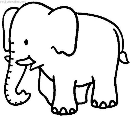 Dibujos de elefante infantil - Imagui