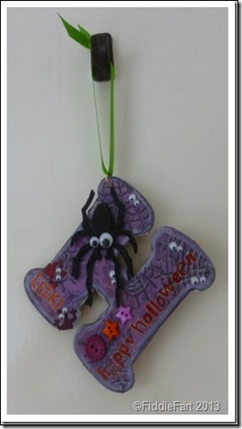Halloween Spider Decoration 2