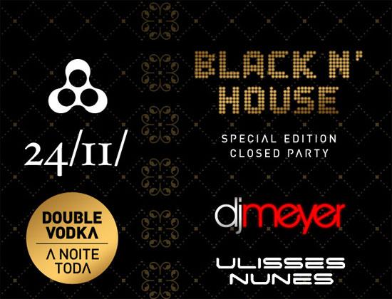 Festa Black n' House na Anzu Club em Itu