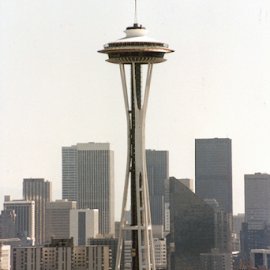 Space Needle by Alec Halstead - Buildings & Architecture Other Exteriors