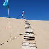 Tianshan - Ascension de la dune Ming Shashan