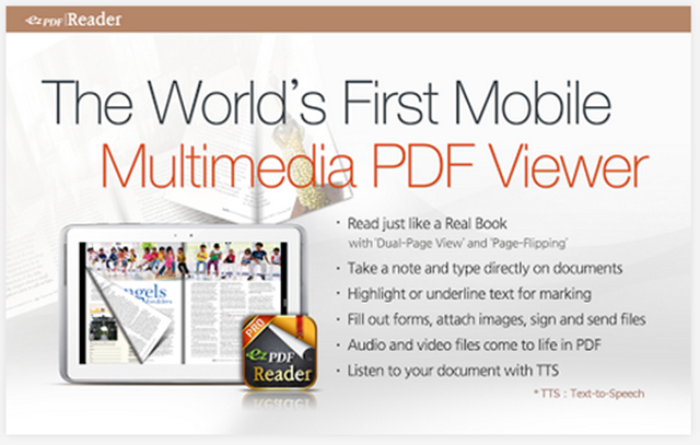 Download ezPDF Reader Multimedia PDF 2.4.3.0