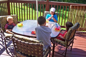 Patio set from grandparents