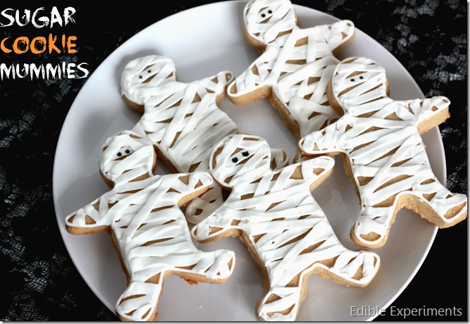 Mummy Sugar Cookies