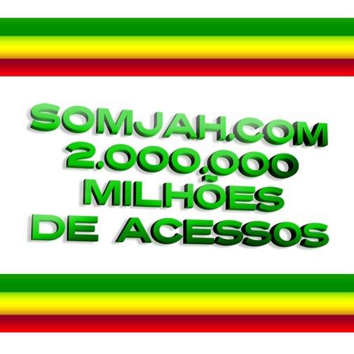 2 milhoes de acessos somjah