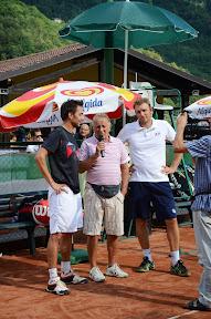 Gian  Franco Poletti  intervista di fine partita