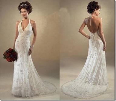vestidos bonitos para novias sencilos 2012