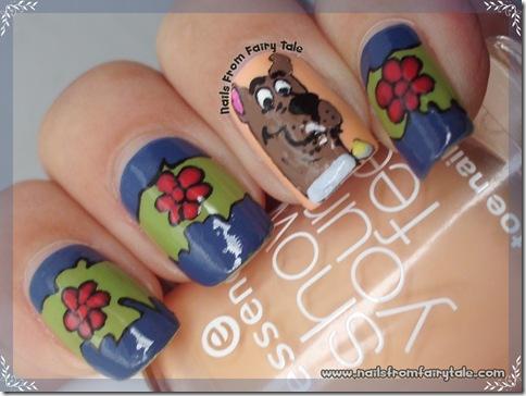 scooby doo nail art 3