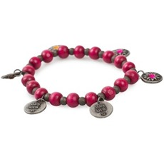 #310 Treasure bracelet dark pink