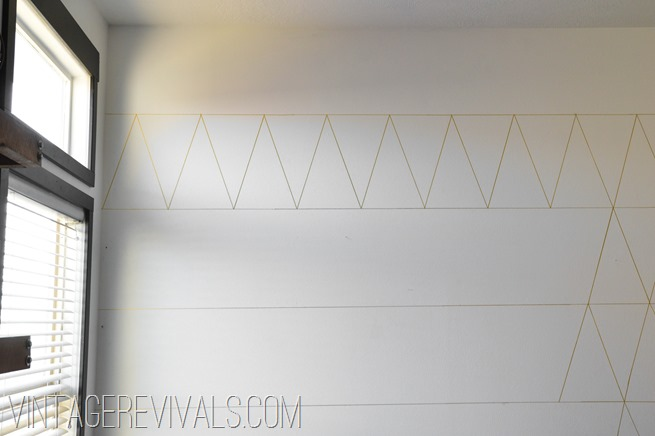 DIY Wallpaper Tutorial @ Vintage Revivals-2-2