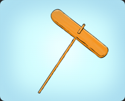 membuat mainan baling-baling bambu_5