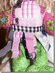 Handmade Rag Dolls Available For Sale back view