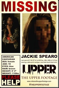 The Upper Footage poster
