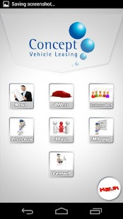 Concept Vehicle Leasing - screenshot