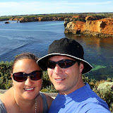 Self-Portrait At The Bay Of Islands - Great Ocean Road, Australia