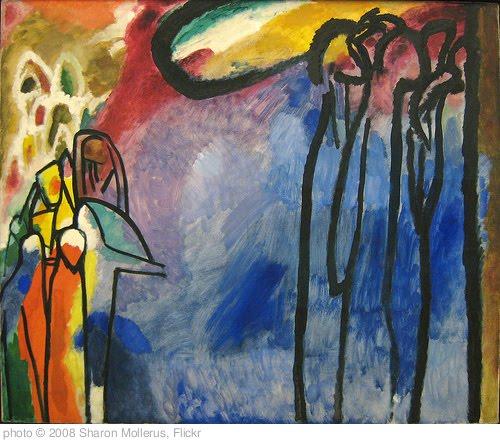 'Kandinsky, Improvisation 19, 1911' photo (c) 2008, Sharon Mollerus - license: http://creativecommons.org/licenses/by/2.0/
