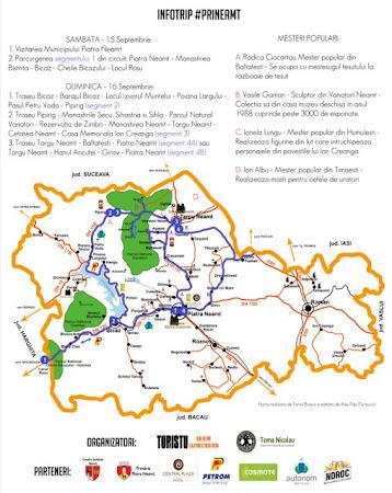 Program vizitare judetul Neamt