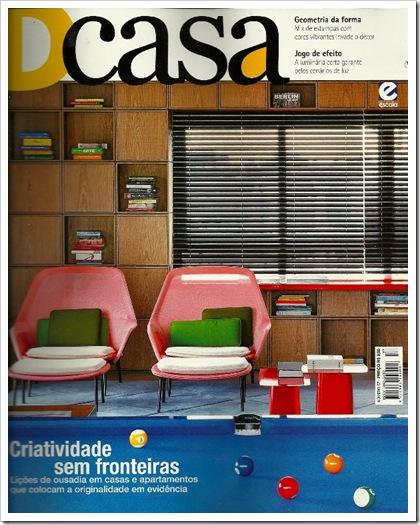 CLIPPING REVISTA DCASA 01 FEVEREIRO 2012