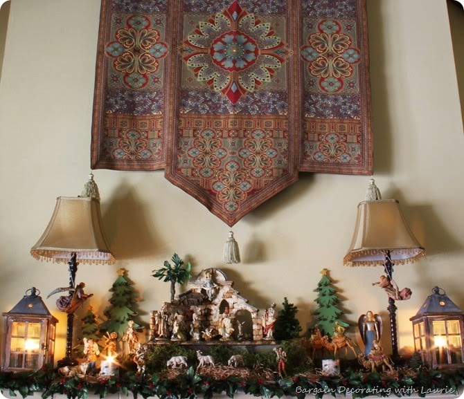 Christmas Mantel a