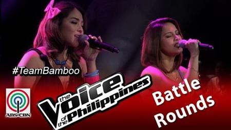 Ramonne Rodriguez vs Lougee Basabas - The Voice PH 2 Battle Rounds