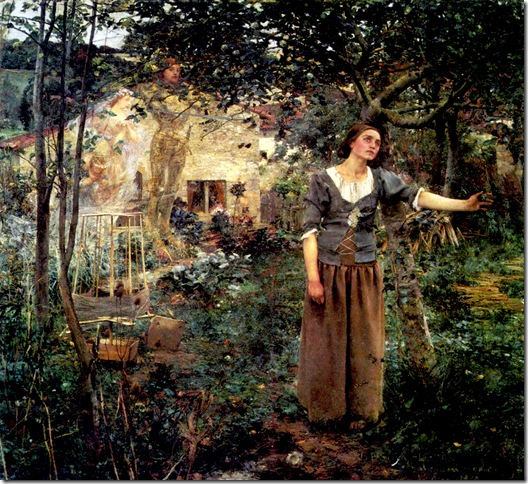Bastien-Lepage-Jules-joan of arc (1880)