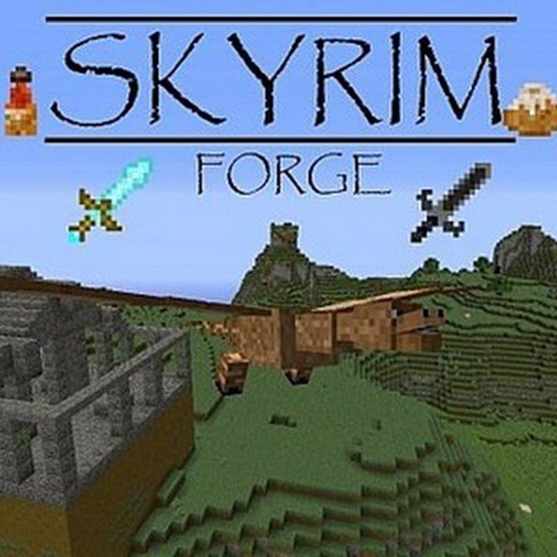 Minecraft 1.3.2 - SkyrimForge v2 1.3.2 Mod