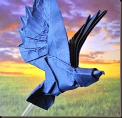 The origami Eagle