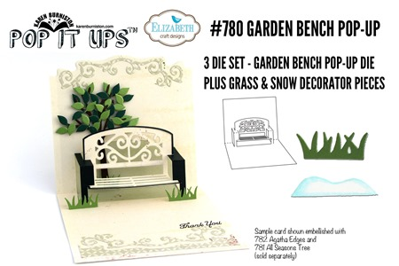 780 Garden Bench Pop-Up