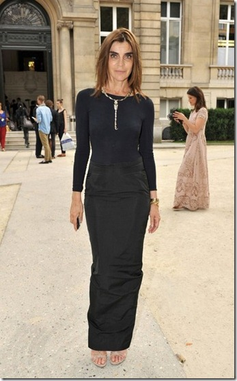 Carine Roitfeld Celebs Valentino Show Paris wfNmXP9dJtVl