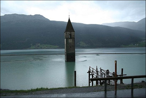 Church of Lake Reschen2