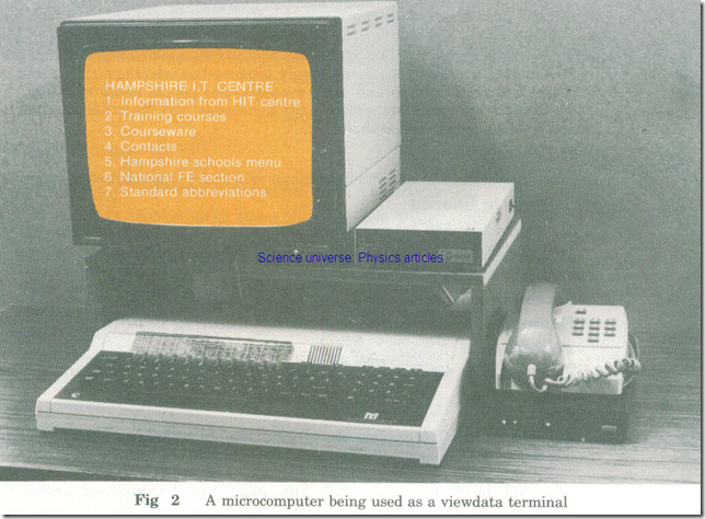 Viewdata Networks-Information Retrieval and Electronic Mail