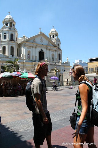 two americans in quiapo