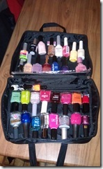Carrie All Organizing Nail Polish