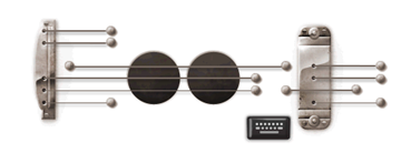 Les Paul's 96th Birthday-Google Logo
