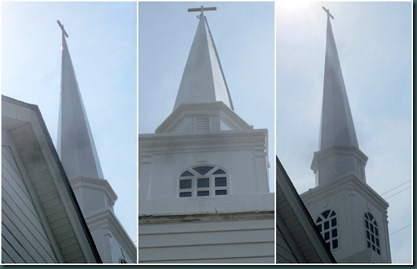 steeple UP collage