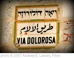 'Via Dolorosa' photo (c) 2007, Andrew E. Larsen - license: http://creativecommons.org/licenses/by-nd/2.0/