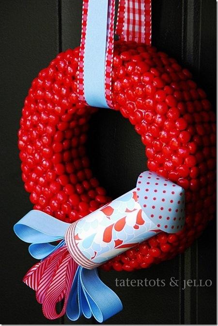 wreath fourth of july wreath