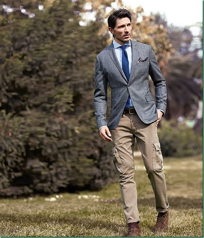 Andres Velencoso for He by Mango FW 13: Campaign