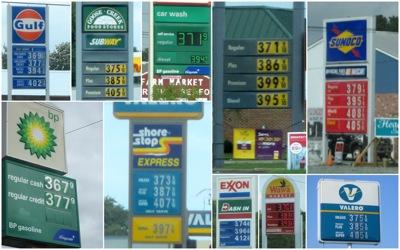 VA NJ gas prices