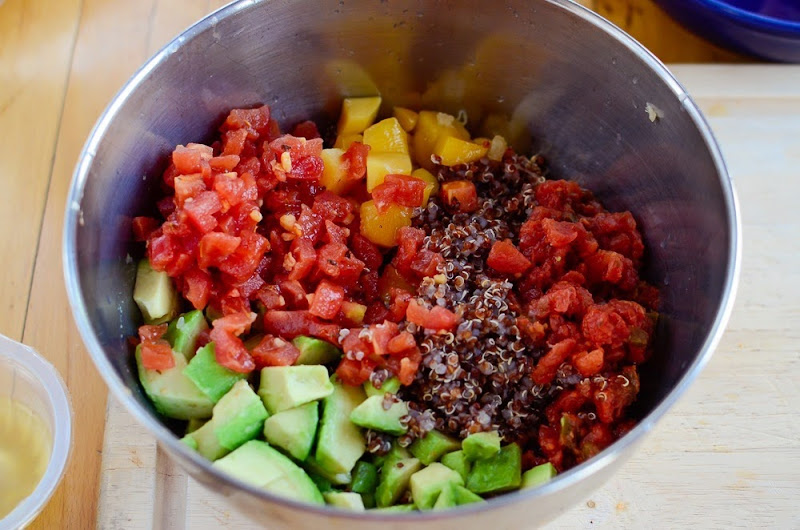quinoa salad with mango-17804