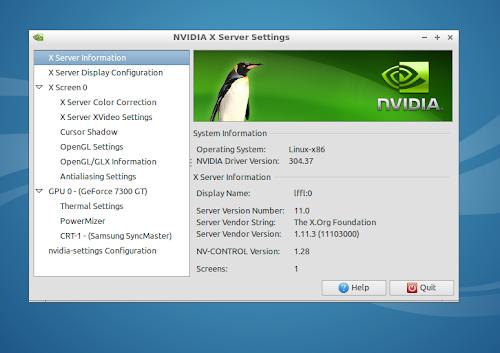 Nvidia 304.37 su Ubuntu 12.04: