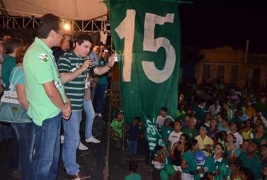 Walter Alves participa de movimentações políticas (Foto - Marcius Valerius)