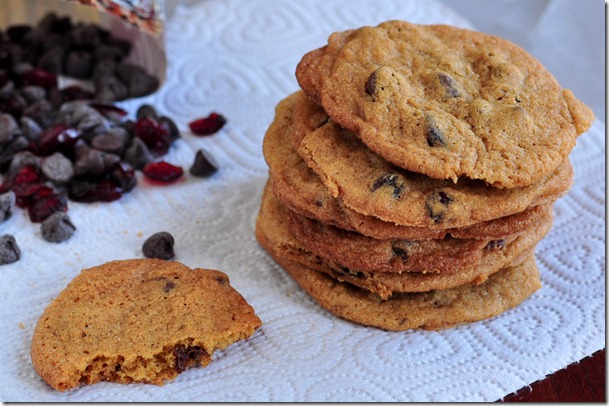 cran chocolate chip cookies