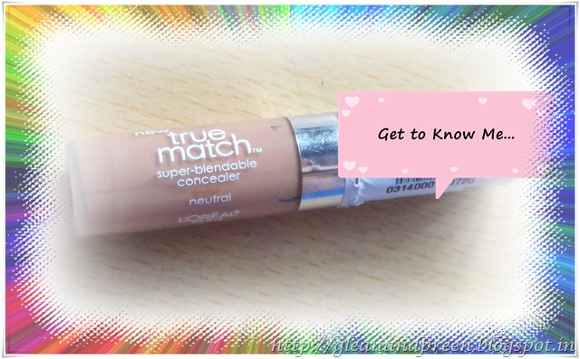 Loreal Truly Blendable Concealer