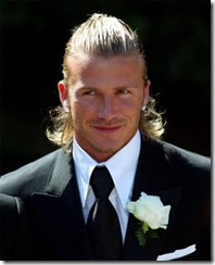 pelo largo formal de hombre david beckham