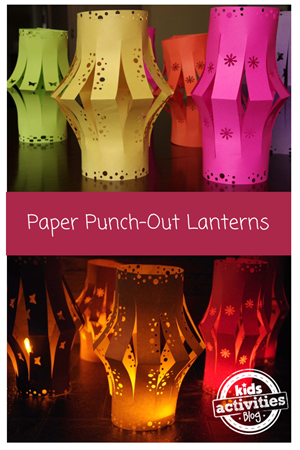 10 Cool Paper Lantern Crafts for Kids from In the Playroom