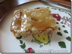 baked apple cinnamon pancake - The Backyard Farmwife